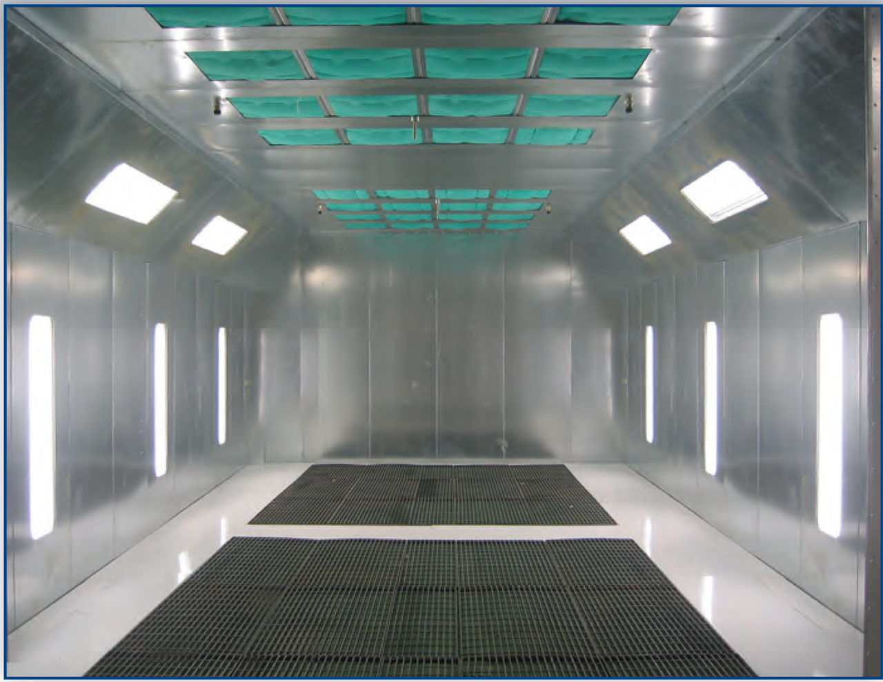 Pit Downdraft Paint Booth